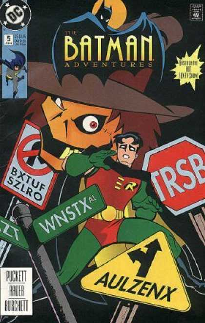 Batman Adventures 5 - Robin - Stop Sign - Big Head - Fear - Teeth