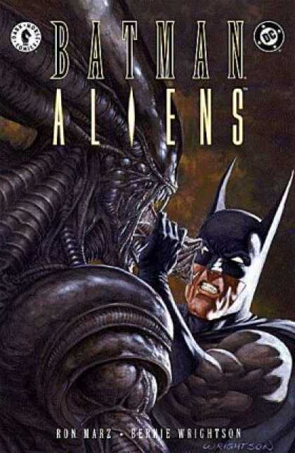 Batman - Aliens 2 - Batman - Aliens - Dc Comics - Dark Horse Comics - Writson