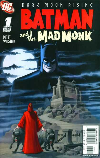 Batman and the Mad Monk 1 - First Issue - Dark Moon Rising - Castle On Hill - Creepy - Full Moon - Matt Wagner
