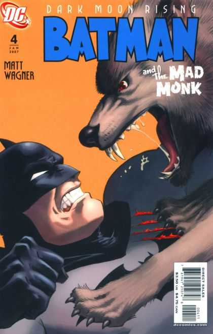 Batman and the Mad Monk 4 - Dc - Matt Wagner - Wolf - Fangs - Blood - Matt Wagner
