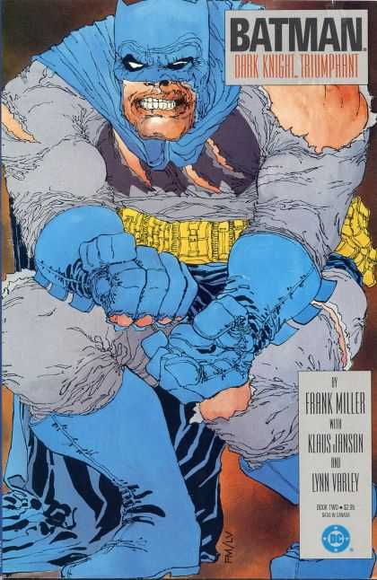 Batman: Dark Knight Returns 2 - Frank Miller - Klaus Janson - Deatch-batman - Sculls - Lynn Varley
