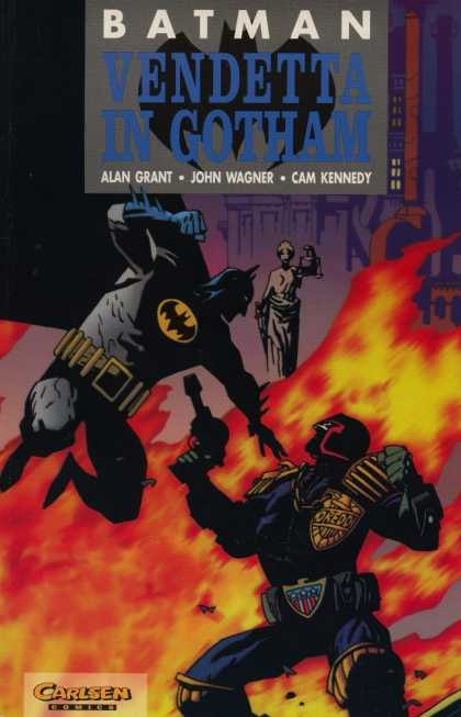 Batman (German) 13 - Superhero - Fight - Action - Punch - Dark