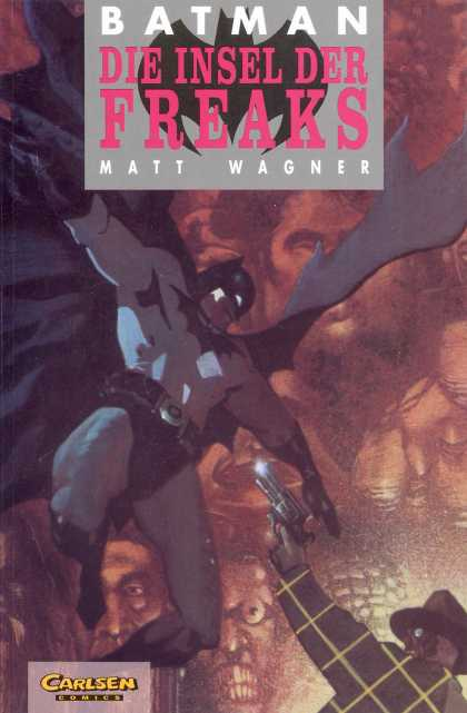 Batman (German) 14 - Die Insel Der Freaks - Matt Wagner - Carlsen - Gun - Cape