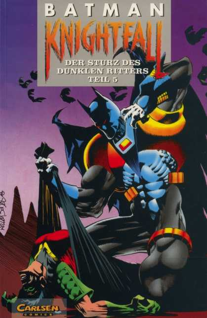 Batman (German) 19 - Bats - Robin - Super Suit - Der Sturz Des Dunklen Ritters Teil 5 - Body Bag