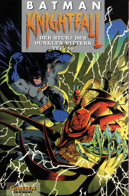 Batman (German) 24 - Batman - Knightfall - Carlsen - Lightening - Fight