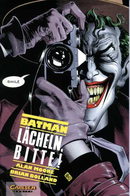 Batman (German) 5 - Camera - The Joker - Smile - Green Hair - Sharp Teeth