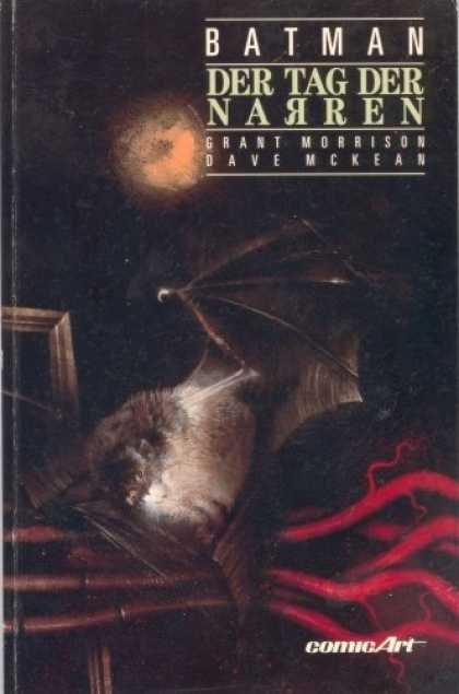 Batman (German) 7 - Bat - Moonlight - Comicart - Grant Morrison - Dave Mckean