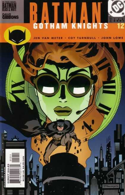 Batman: Gotham Knights 12 - Glasses - Headset - Gotham City - Issue Number 12 - John Lowe - Darwyn Cooke