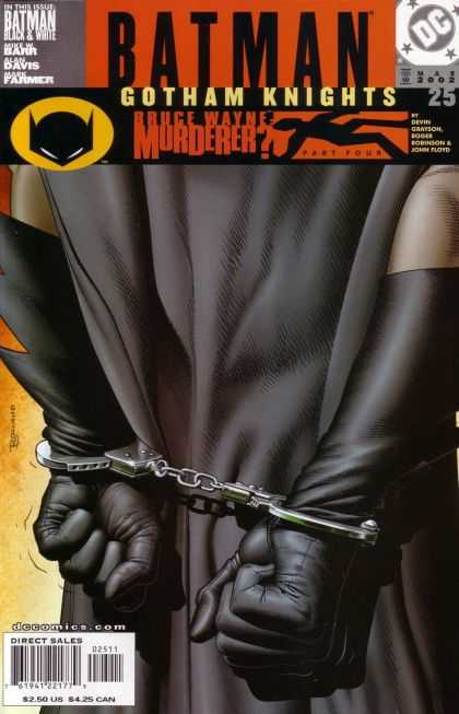 Batman: Gotham Knights 25 - Black Gloves - Black Cape - Superhero In Peril - Bruce Wayne - Murder In Gotham - Brian Bolland