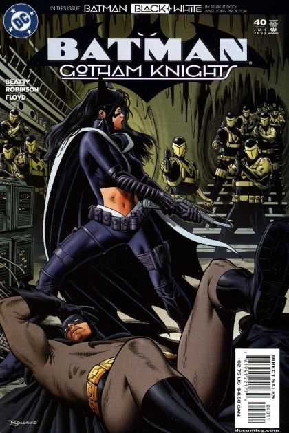Batman: Gotham Knights 40 - Woman - Gun - Army - Dark - Weapons - Brian Bolland