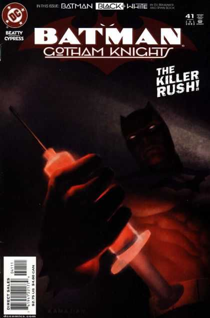 Batman: Gotham Knights 41 - Batman - Gotham Nights - Killer - Rush - Syringe