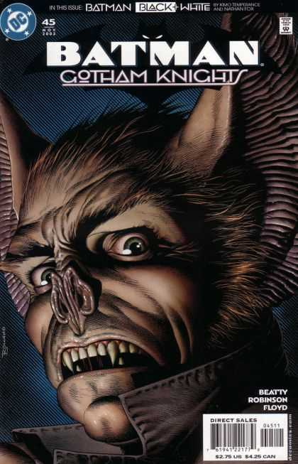 Batman: Gotham Knights 45 - Wolfman - Black And White Batman - Gotham - Knights - Floyd - Brian Bolland