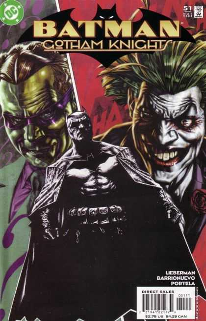 Batman: Gotham Knights 51 - Joker - Riddler - Bruce Wayne - Edward Nigma - The Clown Prince Of Crime