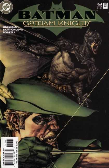 Batman: Gotham Knights 53 - Robin Hood - Sherwood - Diamond Comics - Bow - Arrow
