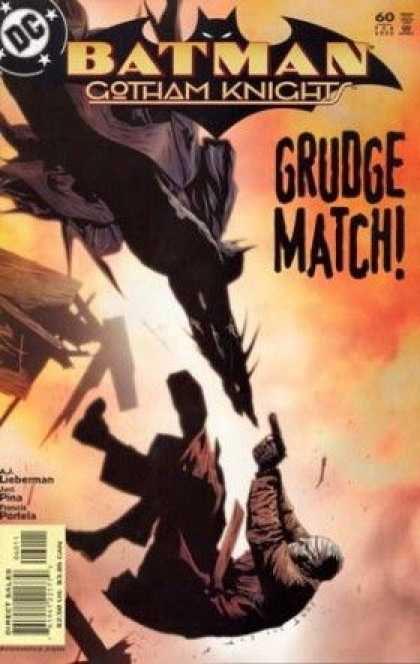 Batman: Gotham Knights 60 - Approved By The Comics Code - Man - Gun - Grudge Match - Direct Sales - Jae Lee
