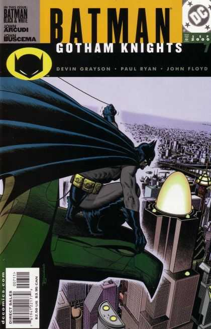 Batman: Gotham Knights 7 - Batman - Gotham Knights - Gotham City - Ready To Fly - Watching City For Crime - Brian Bolland