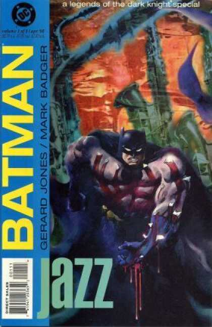 Batman: Jazz 1 - Mark Badger - Gerard Jones - Blood - Dc - Purple Smoke