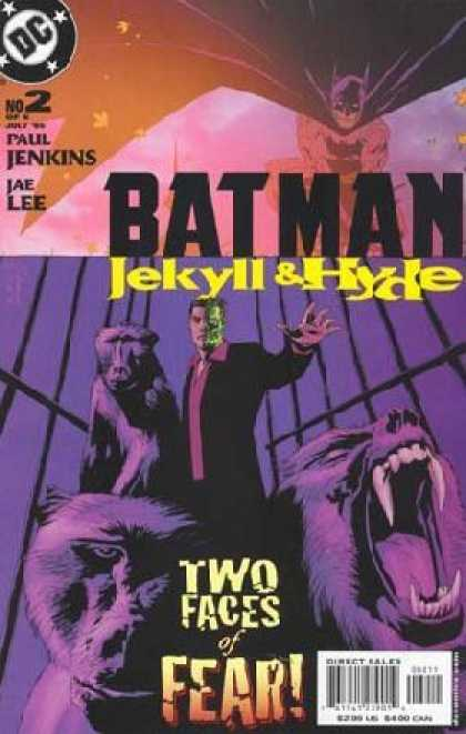 Batman: Jekyll & Hyde 2 - Dc Comics - Paul Jenkins - Jae Lee - Bat Man - Two Faces Of Fear