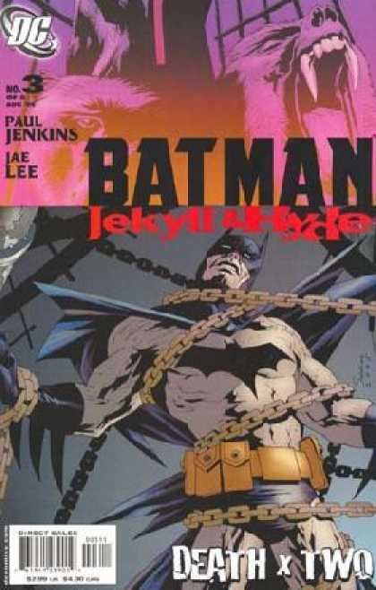 Batman: Jekyll & Hyde 3 - Dc - No 3 - Paul Jenkins - Iae Lee - Death X Two