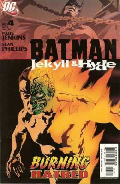 Batman: Jekyll & Hyde 4 - Dc - Paul Jenkins - Sean Phillips - Fire - Chains
