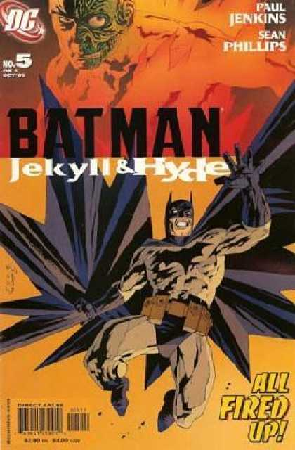 Batman: Jekyll & Hyde 5 - Dc Comics - Paul Jenkins - Sean Phillips - All Fired Up - Cape