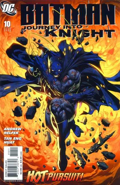 Batman: Journey Into Knight 10 - Rope - Ground - Fire - Rumble - Dc - Pat Lee