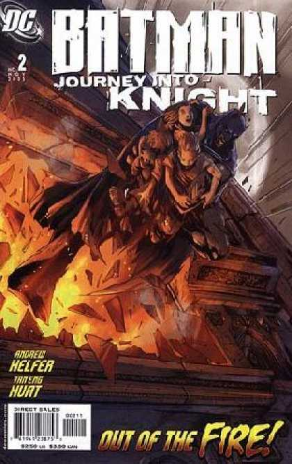 Batman: Journey Into Knight 2 - Batman - Fire - Rescue - Children - Building - Pat Lee