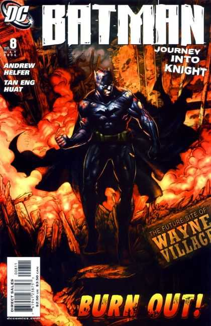 Batman: Journey Into Knight 8 - Dc Comics - Fire - Andrew Helfer - Tan Eng Huat - Burn Out - Pat Lee