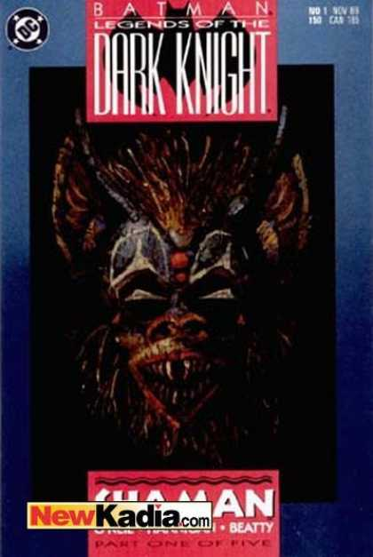 Batman: Legends of the Dark Knight 1 - Beatty - Mask - Shaman - Part One Of Five - Newkadiacom