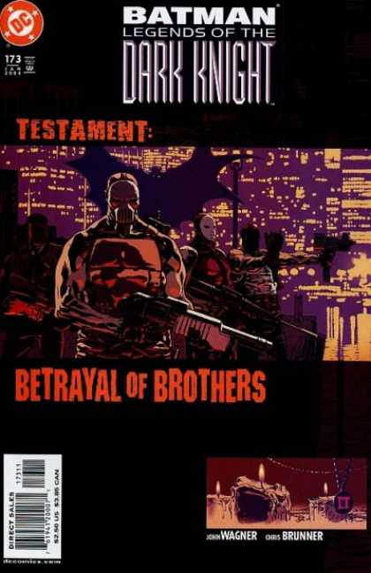 Batman: Legends of the Dark Knight 173 - Testament - Betrayal Of Brothers - Shotgun - John Wagner - Chris Bruner