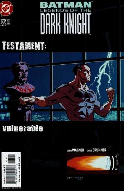 Batman: Legends of the Dark Knight 175 - Testament - Vulnerable - Lightning - Windows - Statue
