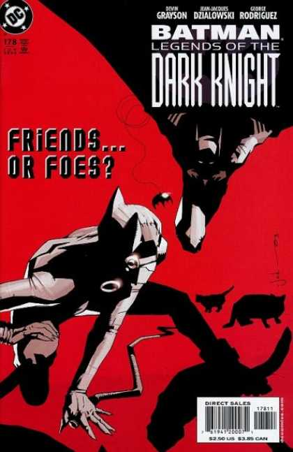Batman: Legends of the Dark Knight 178 - Friends Or Foes - Shadows - Animals - Grayson - Dzialowski - Mark Simpson