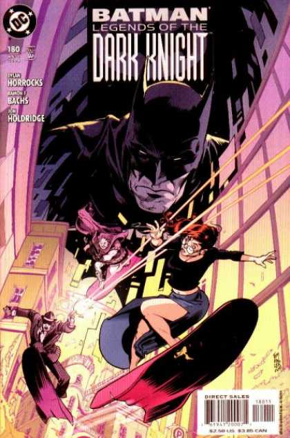 Batman: Legends of the Dark Knight 180 - Batman Fights Back - Tough Criminals For Batmans - Flying Criminals - City In Threat Of Destruction - Will Batman Save The Innocents