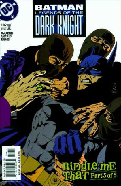 Batman: Legends of the Dark Knight 189