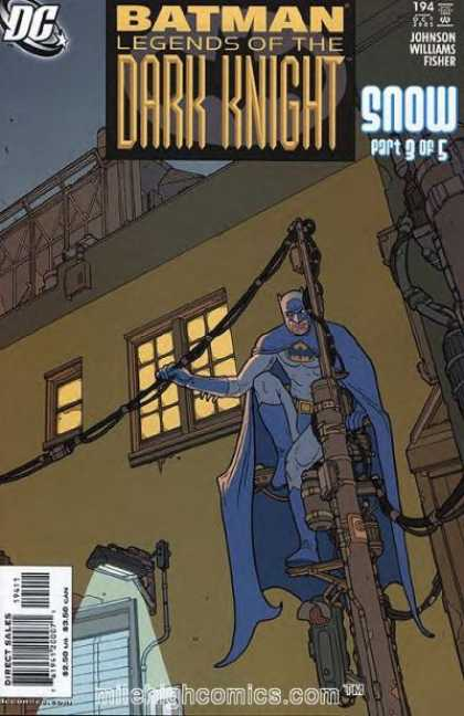Batman: Legends of the Dark Knight 194 - Building - Window - Powerline - Perched - Light - Seth Fisher