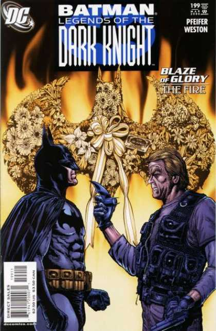 Batman: Legends of the Dark Knight 199 - Pfeifer - Blaze Of Glory - The Fire - Direct Sales - Weston - Chris Weston