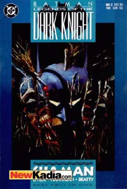 Batman: Legends of the Dark Knight 2 - Dc Comics - Batman - Joker - Shaman - Part Two Of Five