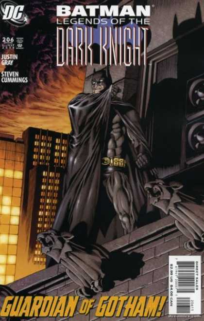 Batman: Legends of the Dark Knight 206 - Issue 206 - Gotham - Buildings - City - Cape