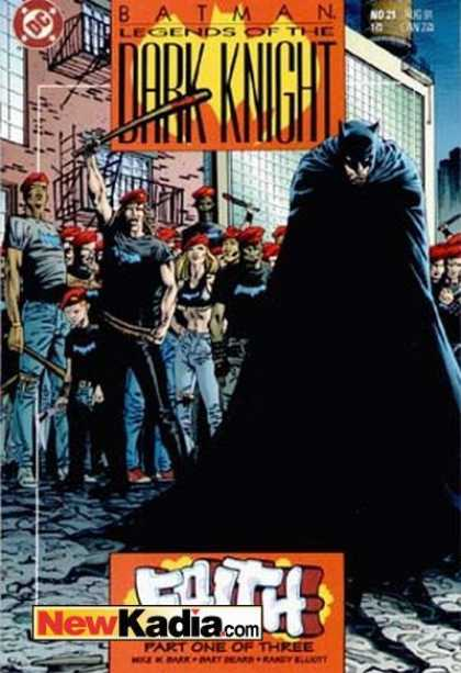 Batman: Legends of the Dark Knight 21 - Bart Sears