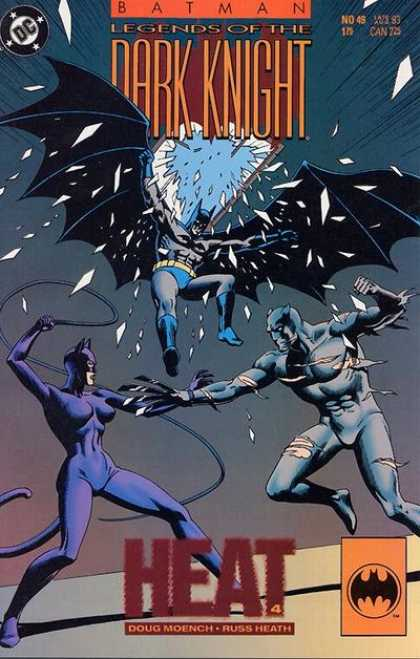 Batman: Legends of the Dark Knight 49 - Dc Comics - Modern Age - Catwoman - Doug Moench - Superheros
