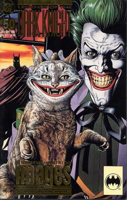 Batman: Legends of the Dark Knight 50 - Cat - Joker - Smile - Fangs - Dc - Brian Bolland