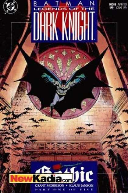 Batman: Legends of the Dark Knight 6 - Dark Knight - Batman - Wings - Bats - Floor - Klaus Janson