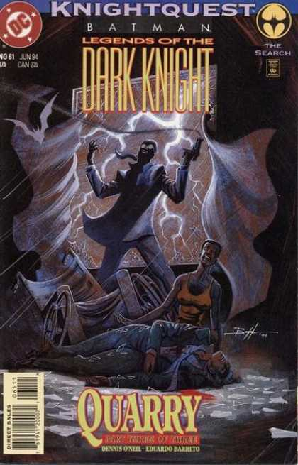 Batman: Legends of the Dark Knight 61 - Knightquest - No 61 - Eduardo Barreto - Dennis Oneil - Quarry Part Three Of Three - Eduardo Barreto