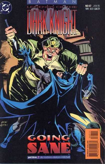 Batman: Legends of the Dark Knight 67 - Joker - Going Sane - Superhero - Alan Moore - Frank Miller - Joe Staton