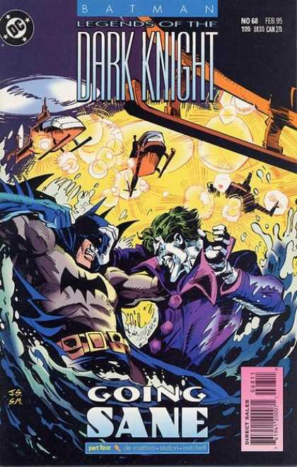 Batman: Legends of the Dark Knight 68 - Joe Staton
