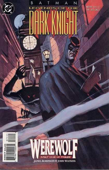 Batman: Legends of the Dark Knight 71 - Dc Comics - Werewolf Part 1 Of 3 - James Robinson - John Watkiss - Clock Tower
