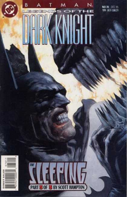 Batman: Legends of the Dark Knight 78 - The Drooling Monster - Sharp Teeth - Night Shadow - Claw - Headfirst - Scott Hampton