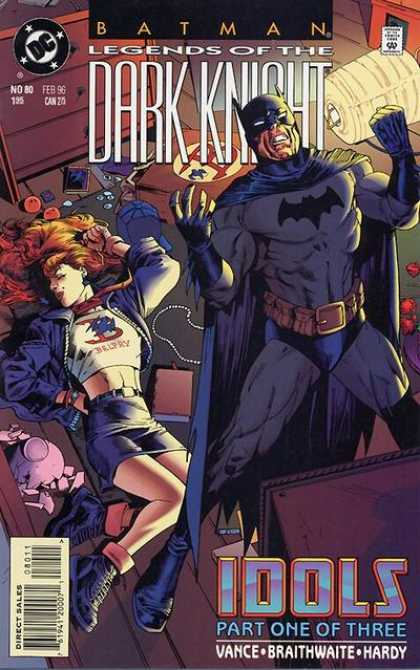 Batman: Legends of the Dark Knight 80 - Dc - February - Woman - Redhead - Superhero