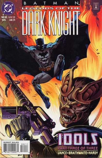 Batman: Legends of the Dark Knight 82 - Vance - Hardy - Idols Part Three Of Three - Machine Gun - Braithwaite