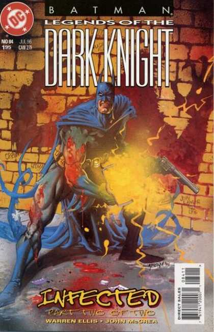 Batman: Legends of the Dark Knight 84 - Monster - Brick - Wall - Cape - Gun - John McCrea